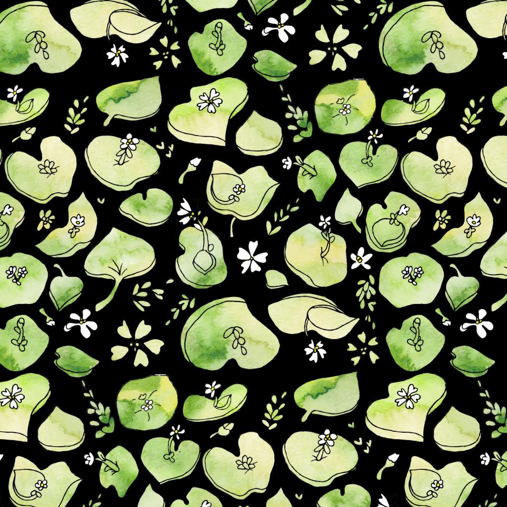 Miners Lettuce Pattern
